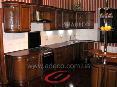 Кухня из дерева_14