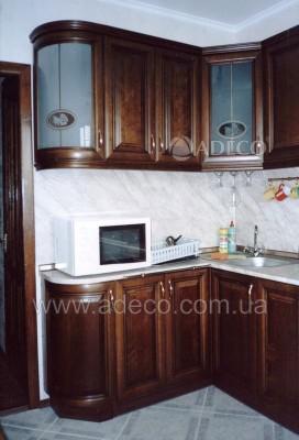 Кухня из дерева_18