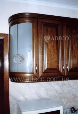 Кухня из дерева_19