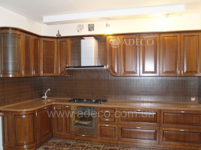 Кухня из дерева_1