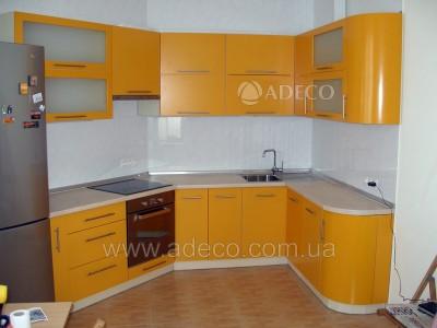 Кухня из МДФ крашенного_3