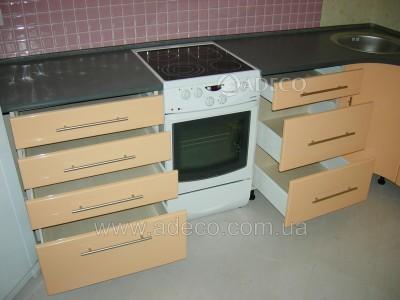 Кухня из МДФ крашенного_58